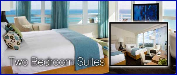 Two bedroom suites miami beach ocean front resort - 2 bedroom hotel suites in miami south beach ...